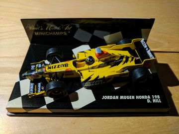 Damon Hill Jordan J198 diecast model