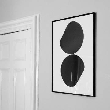 Autechre print designed by the Designers Republic