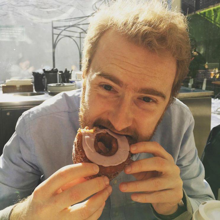 Me eating a cronut