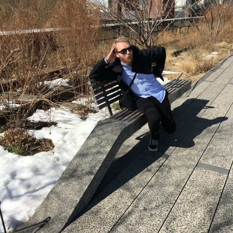 Me on the High Line