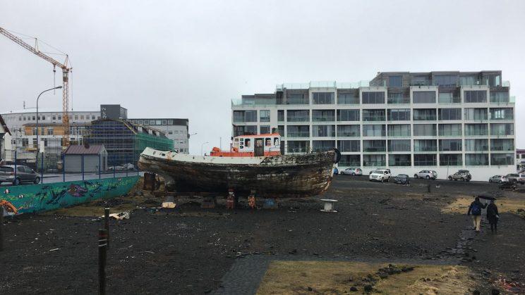 The harbour at Reykjavik