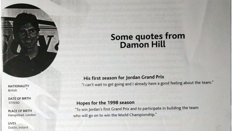 Damon Hill interview