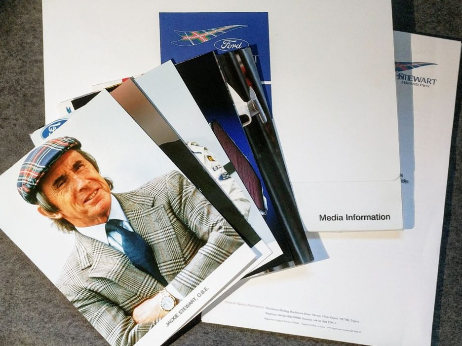 Stewart Grand Prix press kit