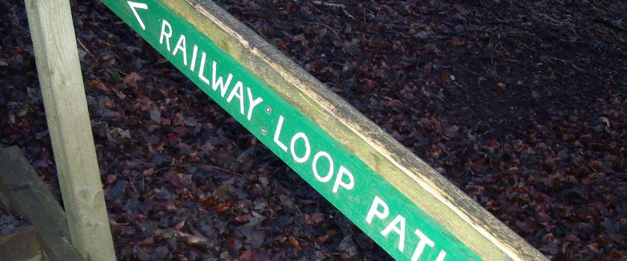 Newtyle railway path