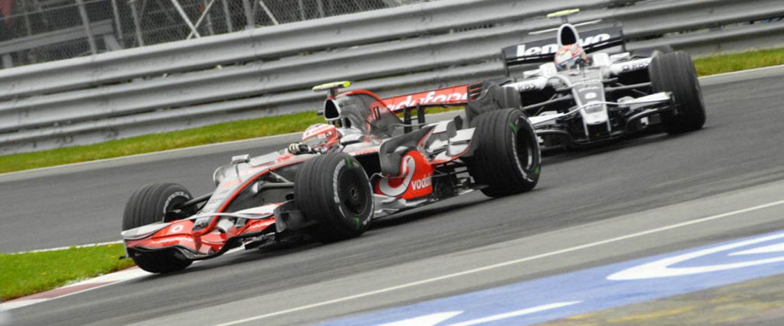 McLaren and Williams