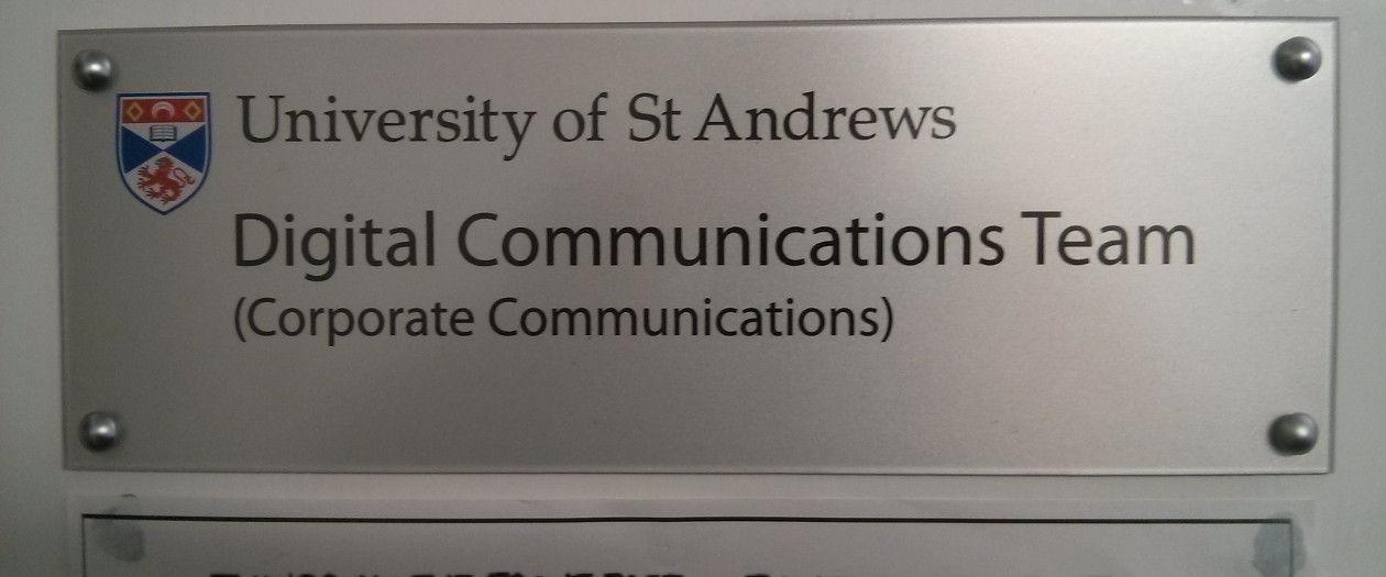 Digital communications team