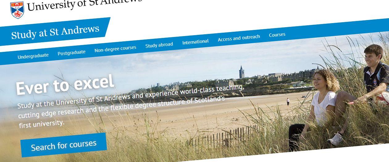 Study at St Andrews screenshot