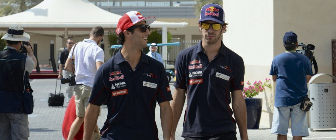 Daniel Ricciardo and Jean-Éric Vergne