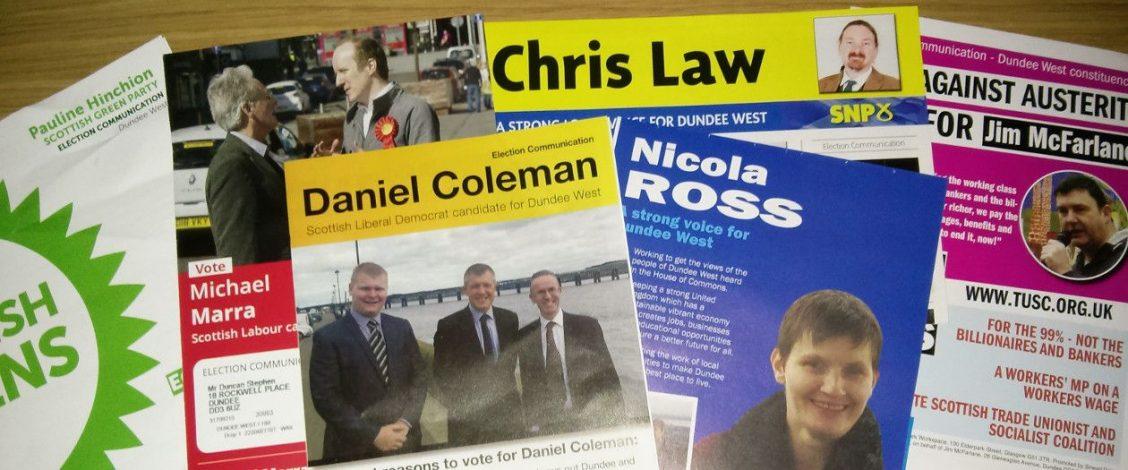 Dundee West leaflets