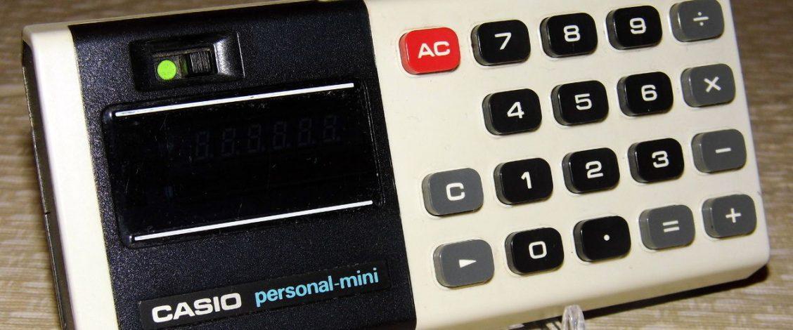Early electronic calculator