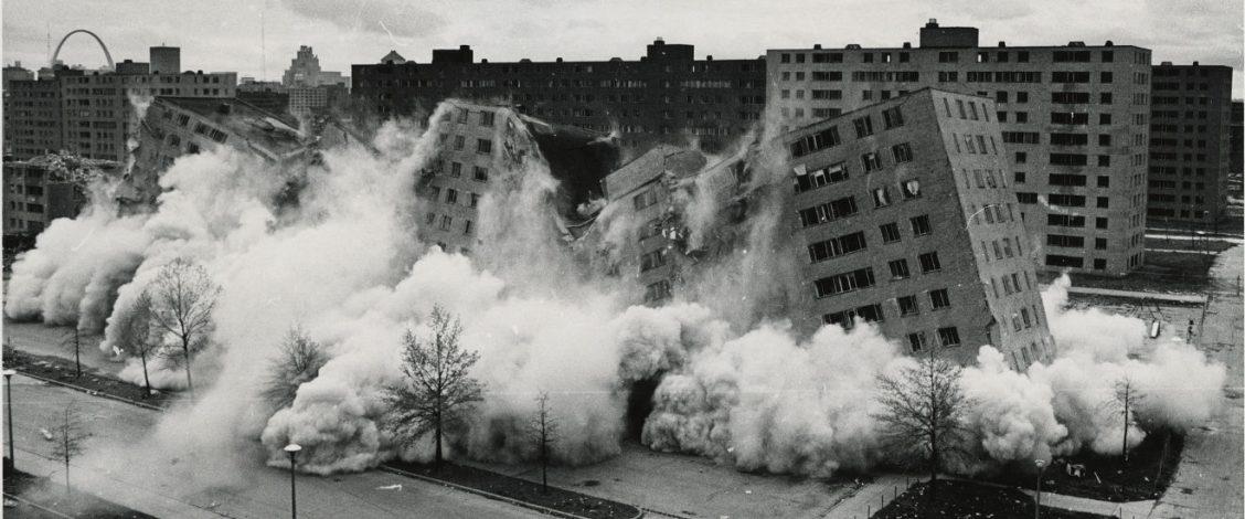 Pruitt-Igoe demolition