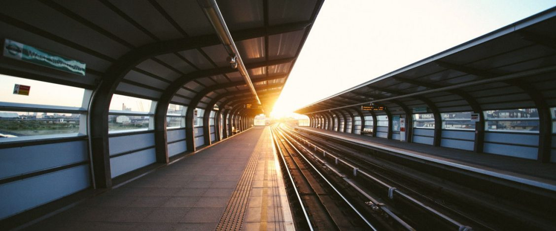 Train platform (photo by Charles Forerunner)