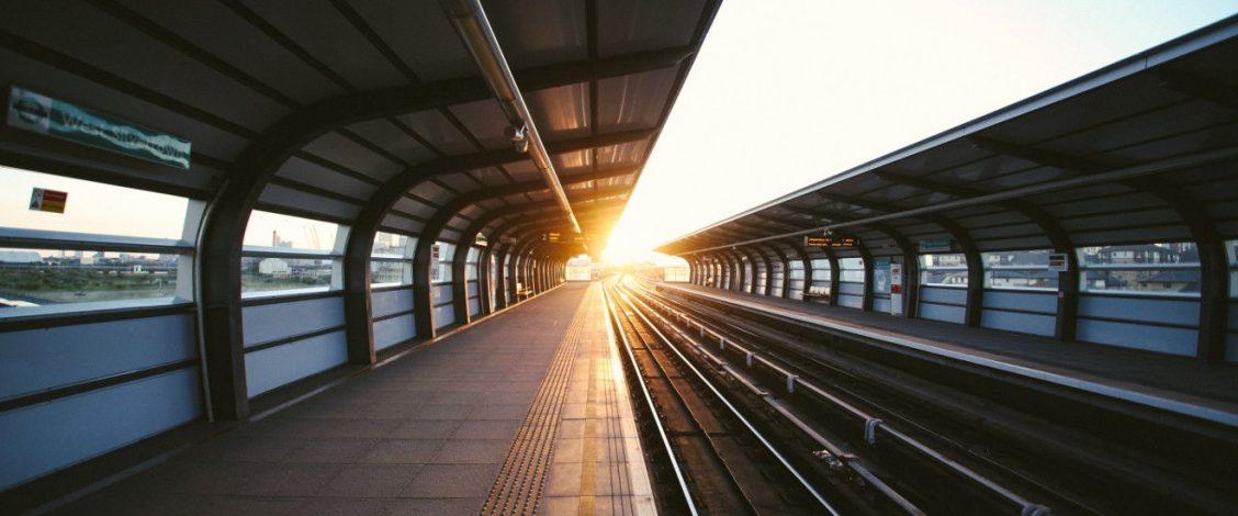 Train platform (photo by Charles Forerunner)