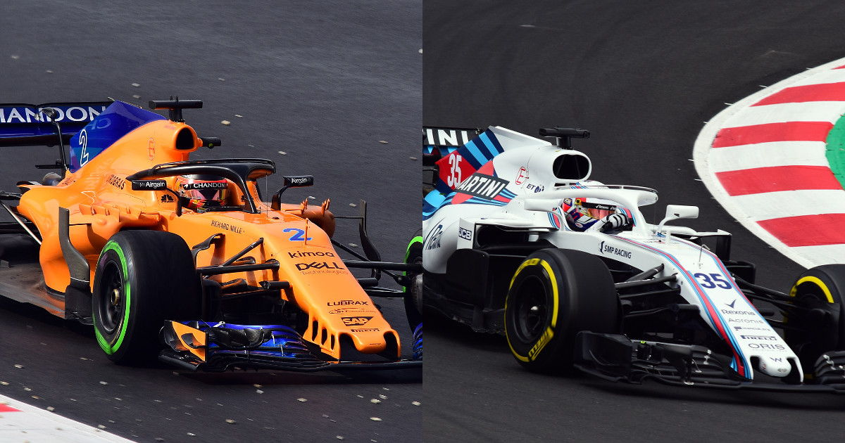 McLaren and Williams cars (original images by Artes Max)