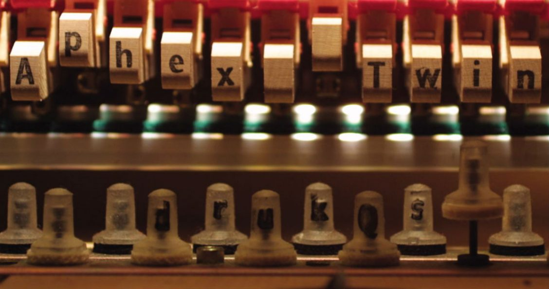 Drukqs album cover detail