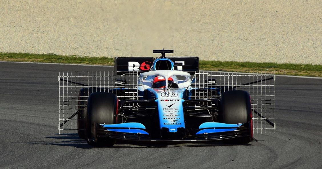 Robert Kubica testing for Williams