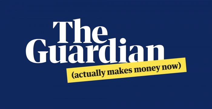 """The Guardian (actually makes money now)"""