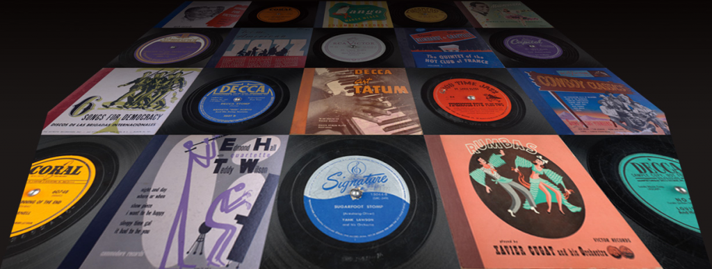 Display of 78s