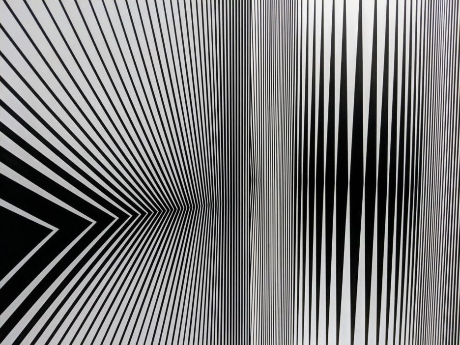 Continuum by Bridget Riley