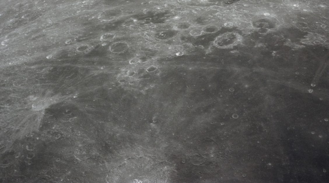 Lunar surface detail