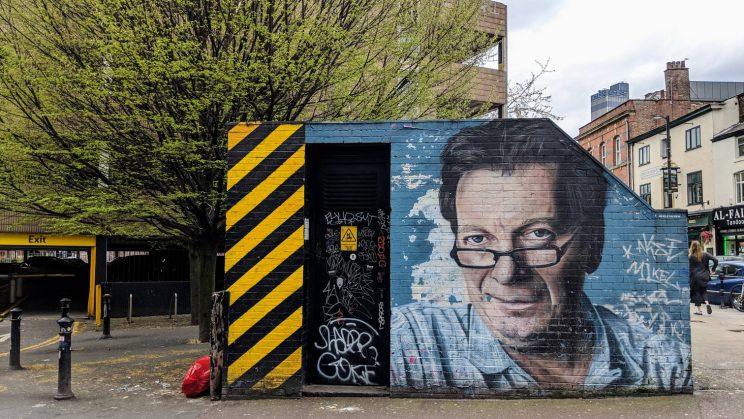 Mural of Tony Wilson