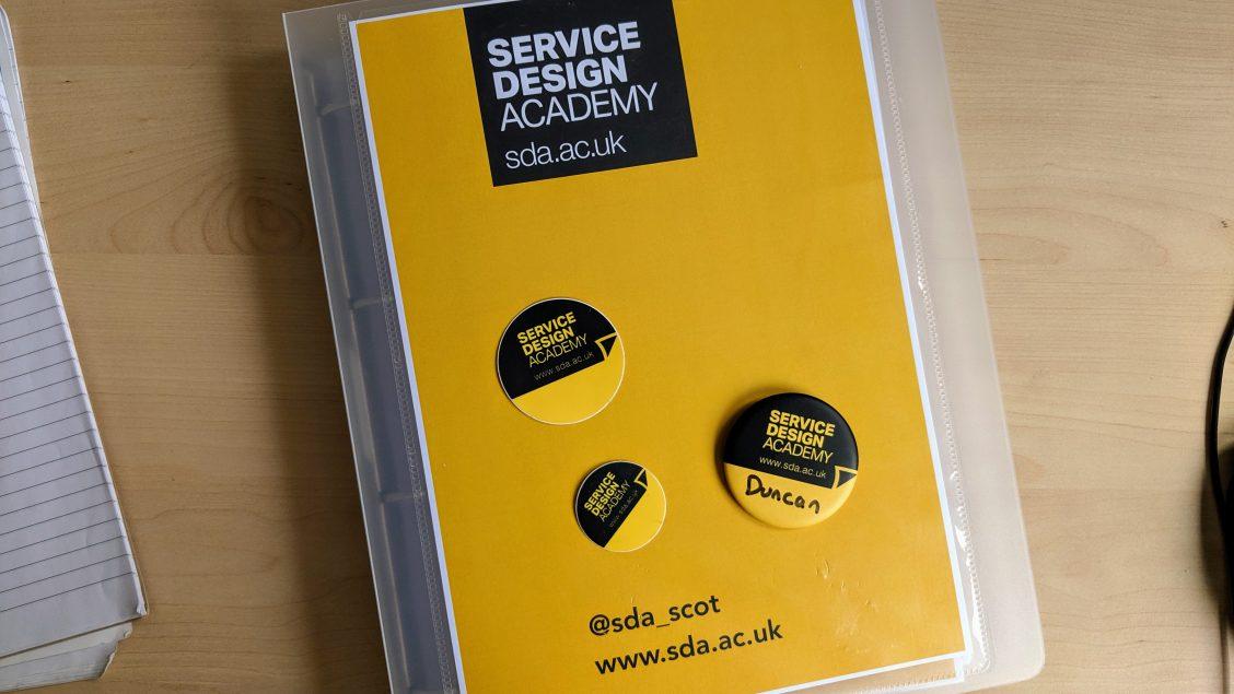 Service Design Academy folder
