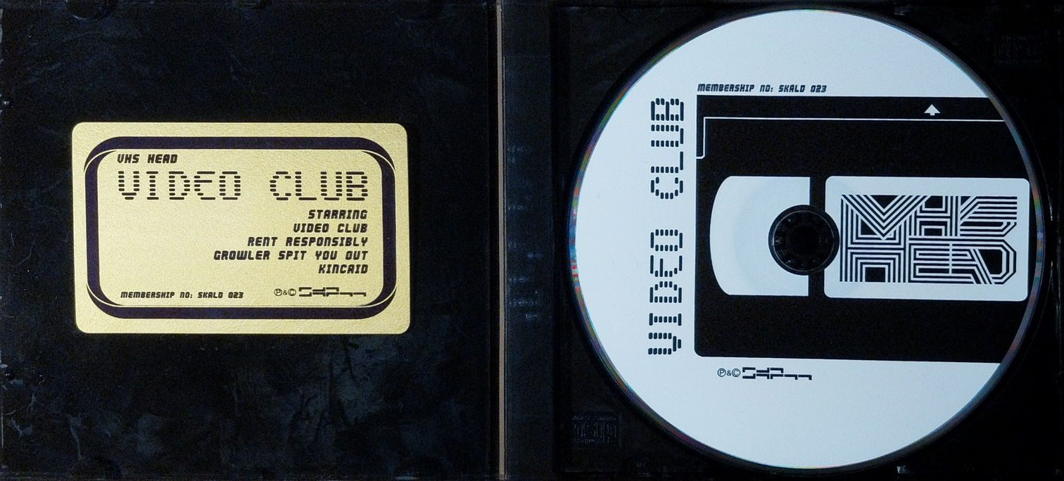 Video Club packaging