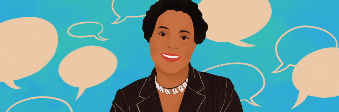 Illustration of Ovetta Sampson