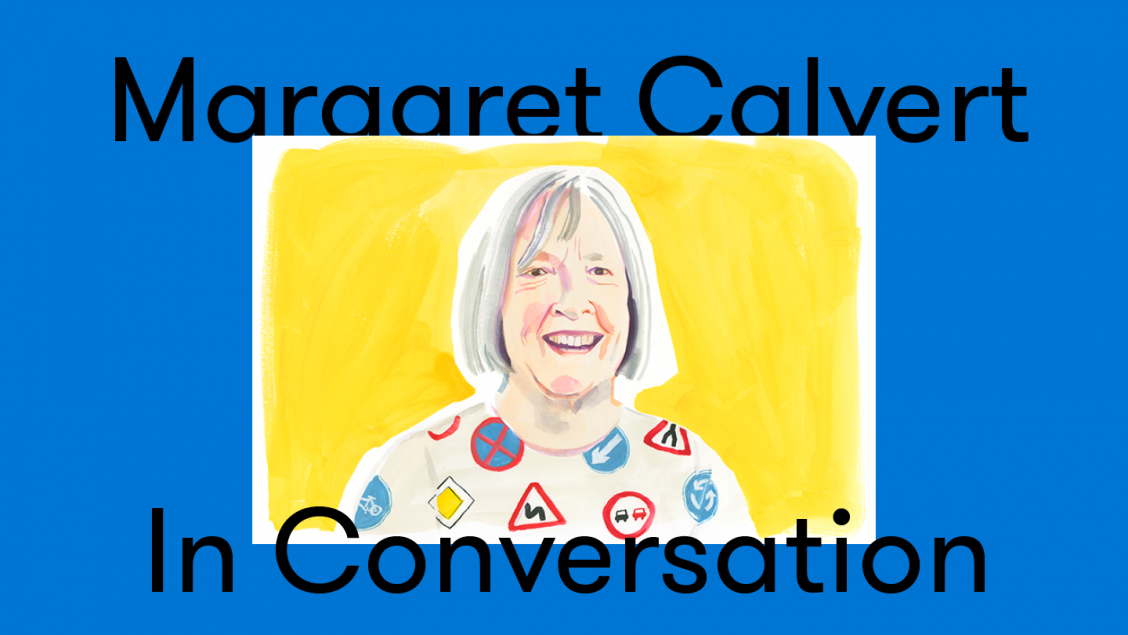 Illustration of Margaret Calvert