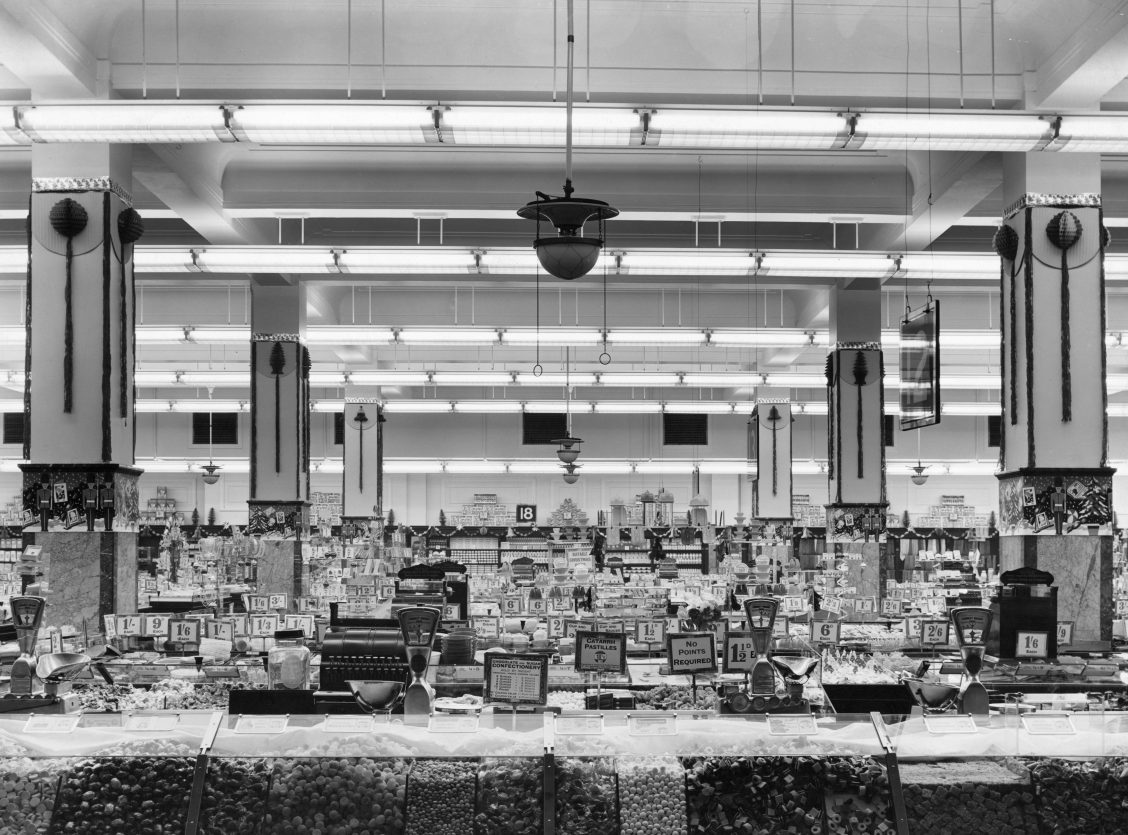 Woolworths store interior