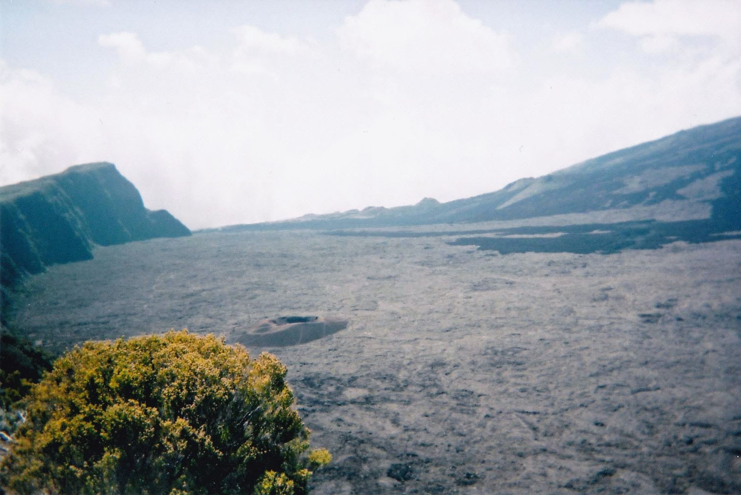 Piton de la Fournaise (taken on the disposable camera)