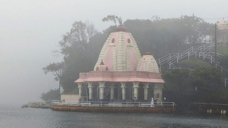Temple at Ganga Talao
