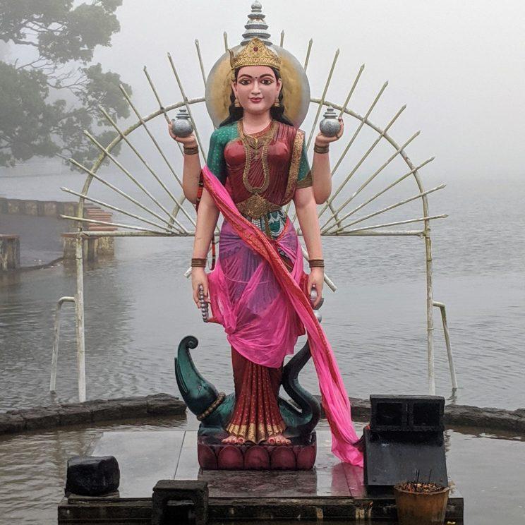 Statue of a Hindu deity