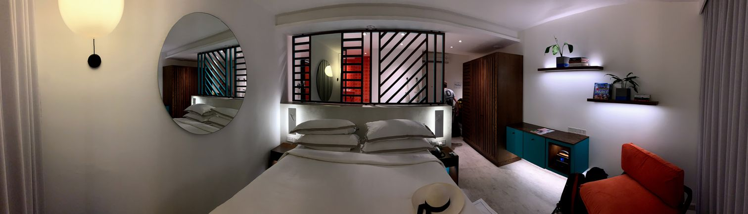 Interior of our bedroom