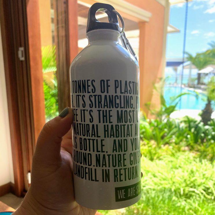 Salt water bottle