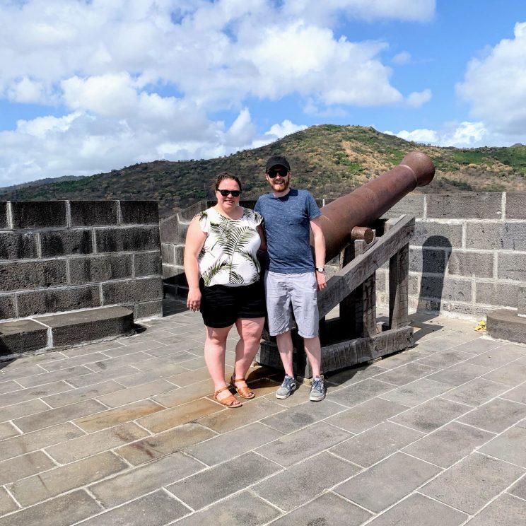 Alex and me at the Citadel