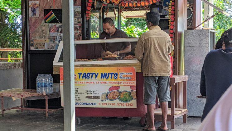 Tasty Nuts food stall