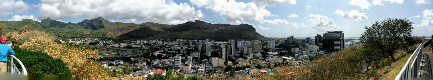 Panoramic view from the Citadel
