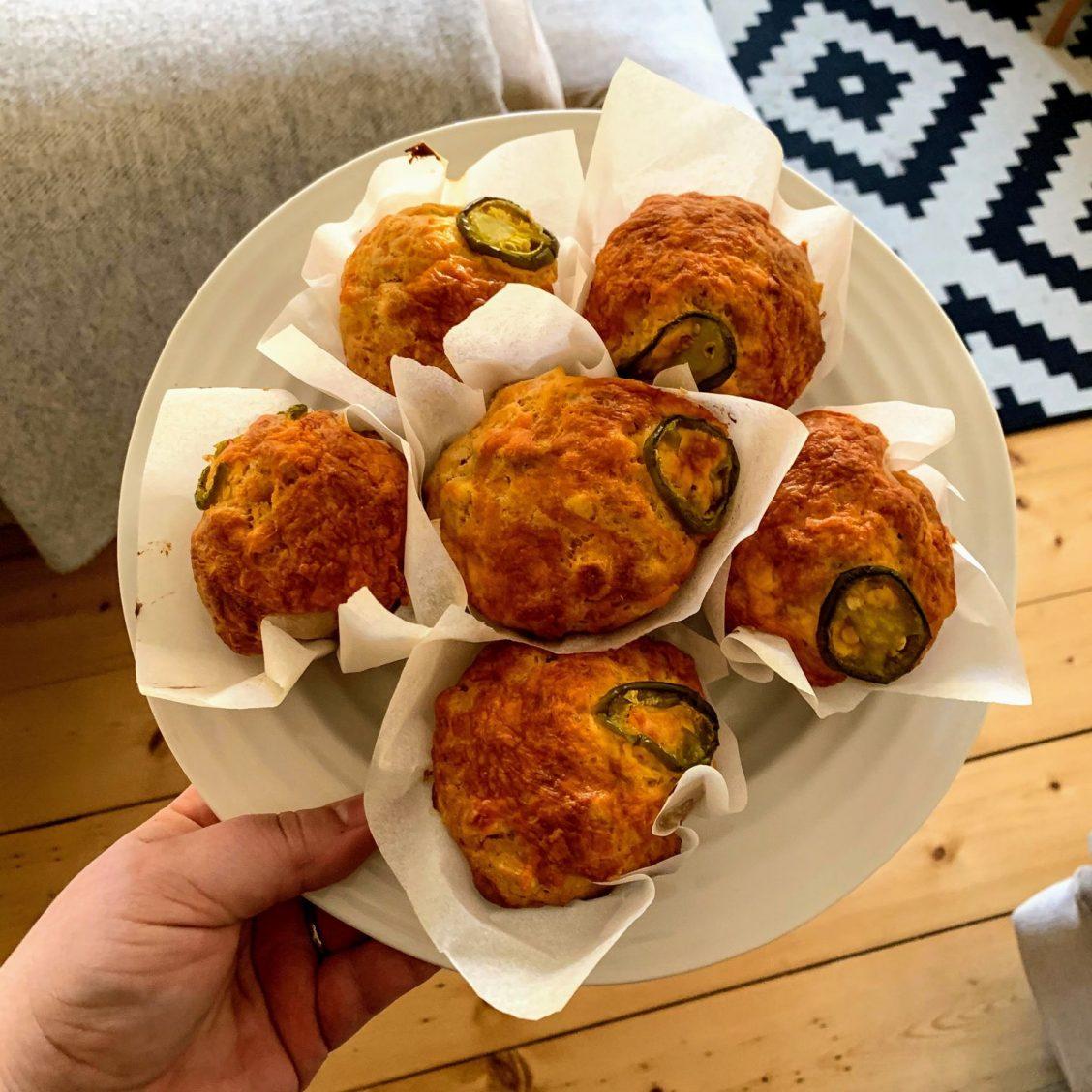 Jalapeño muffins