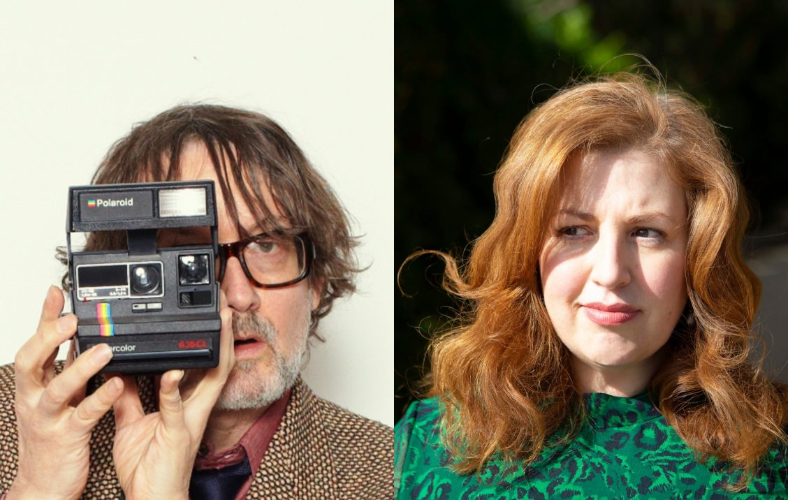 Jarvis Cocker and Jeanie FInlay