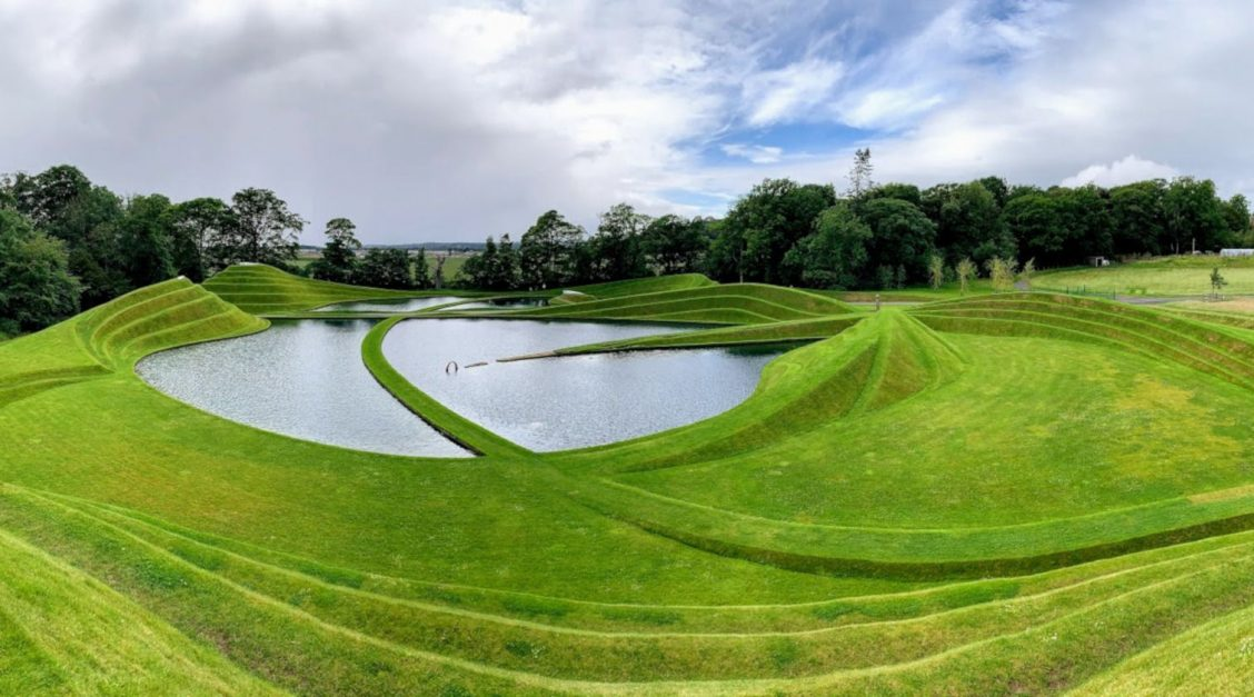 Life mounds at Jupiter Artland