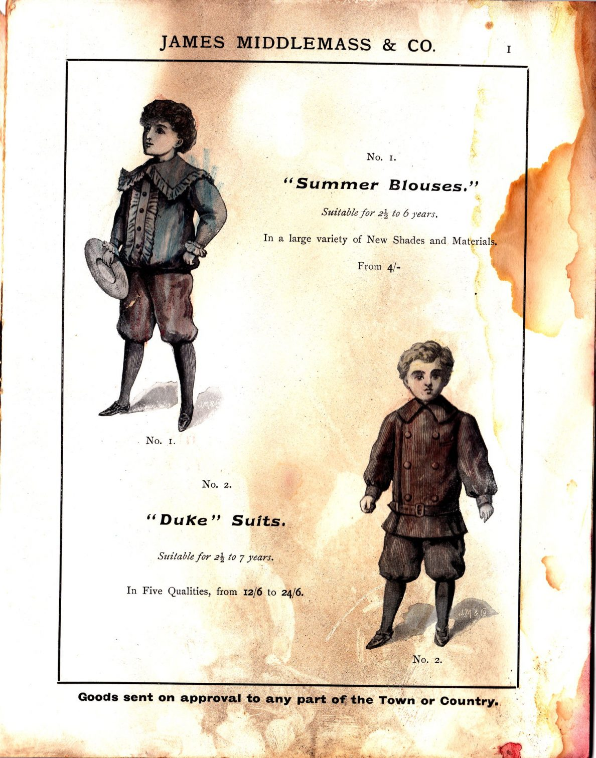 """Summer Blouses"" and ""Duke"" Suits"