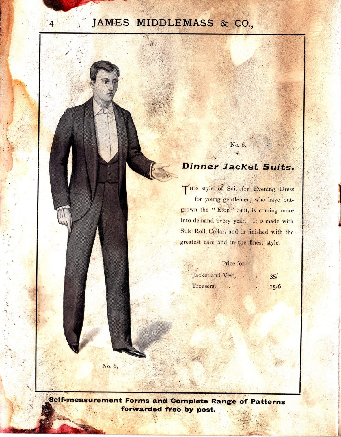 Dinner Jacket Suits