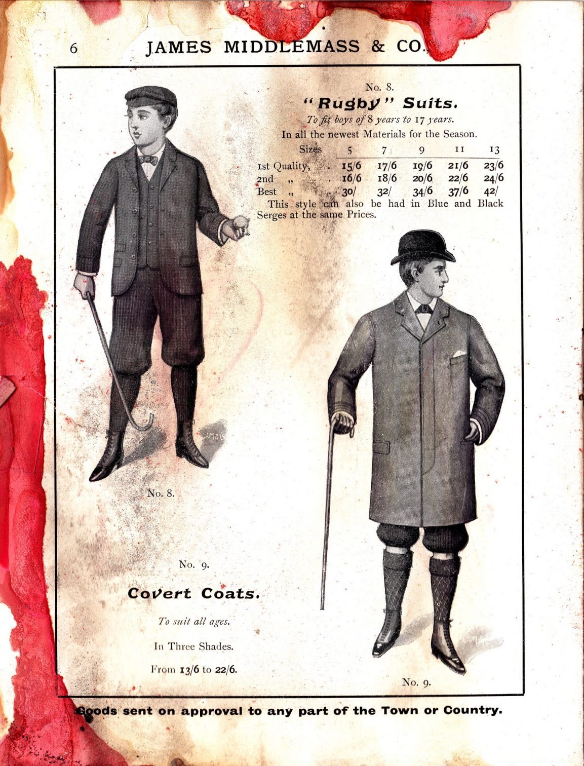 """Rugby"" Suits and Covert Coats"