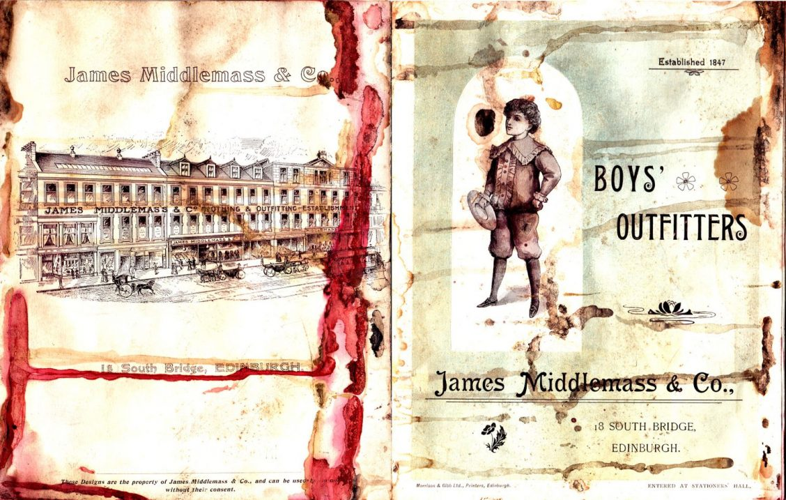 James Middlemass & Co. Boys' Outfitters catalogue